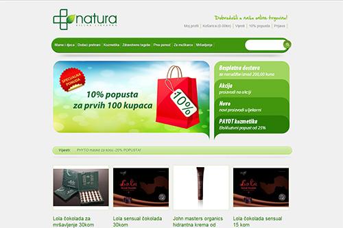 Web stranica ljekarne